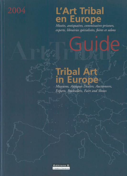 Guide | L'Art Tribal en Europe | Editions D, Frédéric Dawance