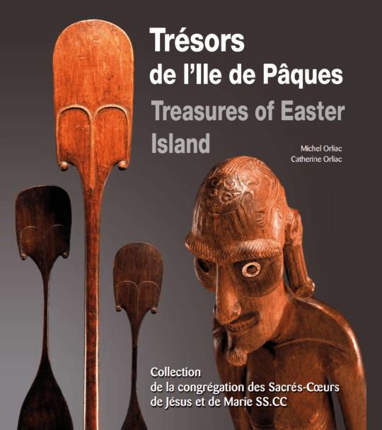 Livre | Trésors de l'île de Pâques | Textes de Michel et Catherine Orliac | Editions D, Frédéric Dawance